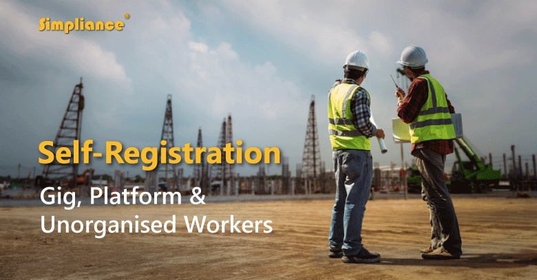 Self Registration for Gig Workers