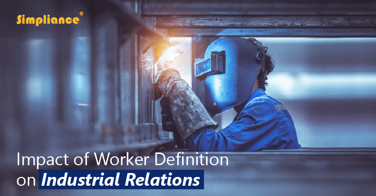 Worker Definition on Industrial Relations